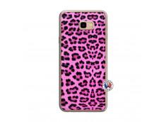 Coque Samsung Galaxy J4 Plus Pink Leopard Translu