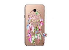 Coque Samsung Galaxy J4 Plus Pink Painted Dreamcatcher