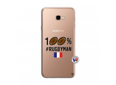 Coque Samsung Galaxy J4 Plus 100% Rugbyman