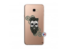 Coque Samsung Galaxy J4 Plus Skull Hipster