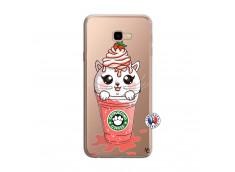 Coque Samsung Galaxy J4 Plus Catpucino Ice Cream