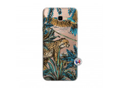 Coque Samsung Galaxy J4 Plus Leopard Jungle