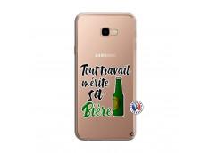 Coque Samsung Galaxy J4 Plus Tout Travail Merite Sa Biere