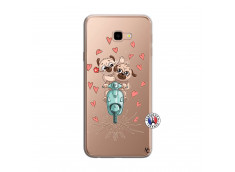 Coque Samsung Galaxy J4 Plus Puppies Love