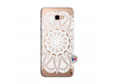Coque Samsung Galaxy J4 Plus White Mandala