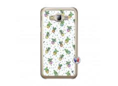 Coque Samsung Galaxy J5 2015 Le Monde Entier est un Cactus Translu
