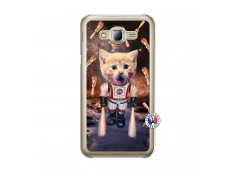 Coque Samsung Galaxy J5 2015 Cat Nasa Translu