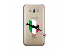 Coque Samsung Galaxy J5 2015 Coupe du Monde Rugby-Italy