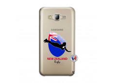 Coque Samsung Galaxy J5 2015 Coupe du Monde Rugby- Nouvelle Zélande