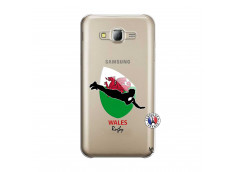 Coque Samsung Galaxy J5 2015 Coupe du Monde Rugby-Walles