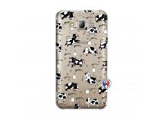 Coque Samsung Galaxy J5 2015 Cow Pattern