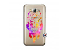Coque Samsung Galaxy J5 2015 Dreamcatcher Rainbow Feathers