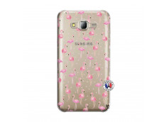 Coque Samsung Galaxy J5 2015 Flamingo