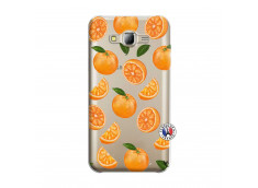Coque Samsung Galaxy J5 2015 Orange Gina