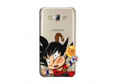 Coque Samsung Galaxy J5 2015 Goku Impact