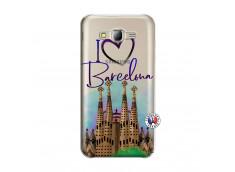 Coque Samsung Galaxy J5 2015 I Love Barcelona