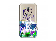 Coque Samsung Galaxy J5 2015 I Love Miami