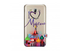 Coque Samsung Galaxy J5 2015 I Love Moscow