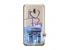 Coque Samsung Galaxy J5 2015 I Love Paris Arc Triomphe