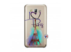Coque Samsung Galaxy J5 2015 I Love Paris