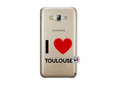 Coque Samsung Galaxy J5 2015 I Love Toulouse