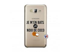 Coque Samsung Galaxy J5 2015 Je m'en bats Les Noix De Coco