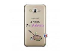 Coque Samsung Galaxy J5 2015 Je Peux Pas J Ai Badminton