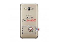 Coque Samsung Galaxy J5 2015 Je peux pas j'ai Handball