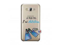 Coque Samsung Galaxy J5 2015 Je Peux Pas J Ai Natation
