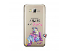 Coque Samsung Galaxy J5 2015 Je Peux Pas J Ai Shopping
