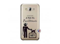 Coque Samsung Galaxy J5 2015 Je Peux Pas Je Suis Veterinaire