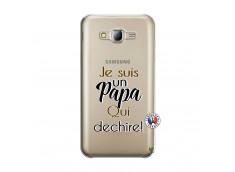 Coque Samsung Galaxy J5 2015 Je Suis Un Papa Qui Dechire