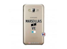 Coque Samsung Galaxy J5 2015 Marseillais à Vie