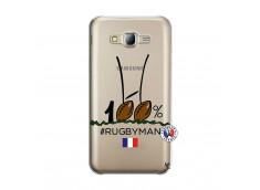 Coque Samsung Galaxy J5 2015 100 % Rugbyman Entre les Poteaux