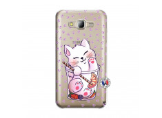 Coque Samsung Galaxy J5 2015 Smoothie Cat