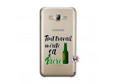 Coque Samsung Galaxy J5 2015 Tout Travail Merite Sa Biere