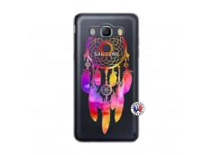 Coque Samsung Galaxy J5 2016 Dreamcatcher Rainbow Feathers