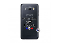 Coque Samsung Galaxy J5 2016 Frappe De Batard Comme Benjamin