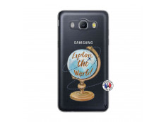 Coque Samsung Galaxy J5 2016 Globe Trotter