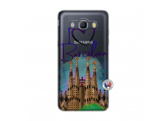 Coque Samsung Galaxy J5 2016 I Love Barcelona