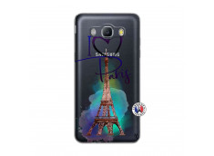 Coque Samsung Galaxy J5 2016 I Love Paris