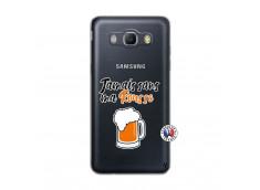 Coque Samsung Galaxy J5 2016 Jamais Sans Ma Rousse