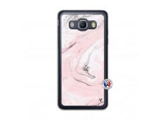 Coque Samsung Galaxy J5 2016 Marbre Rose Translu