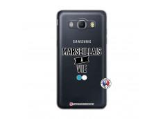 Coque Samsung Galaxy J5 2016 Marseillais à Vie