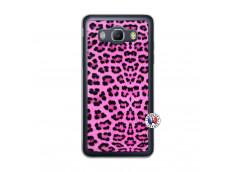 Coque Samsung Galaxy J5 2016 Pink Leopard Translu