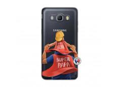 Coque Samsung Galaxy J5 2016 Super Papa et Super Bébé