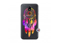 Coque Samsung Galaxy J5 2017 Dreamcatcher Rainbow Feathers