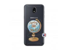 Coque Samsung Galaxy J5 2017 Globe Trotter