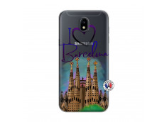 Coque Samsung Galaxy J5 2017 I Love Barcelona