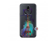 Coque Samsung Galaxy J5 2017 I Love Paris